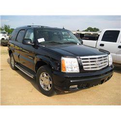 2004 CADILLAC ESCALADE 4 DOOR SUV