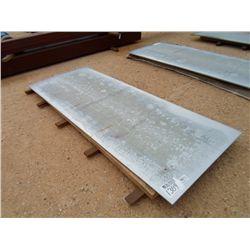 12 GAUGE GALVANIZED STEEL PLATE 4' X 10.5'