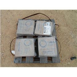 (1) LOT 4 45# BOX'S WELDING .0450 WIRE