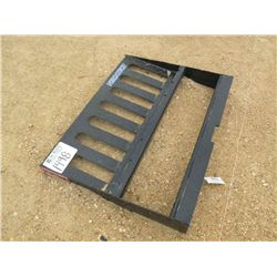 (UNUSED) FORM FRAMES FOR SKID STEER LOADER