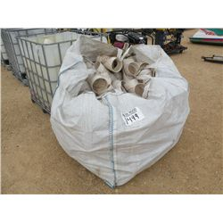 """6"""" PLASTIC PIPE FITTING TEE'S 1500 ____ 6"""" PLASTIC PIPE FITTING"""