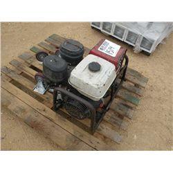 (1) LOT HONDA GAS GENERATOR & WHEEL PLATES