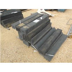 (1) LOT RUBBER LANDSCAPE TIMBERS