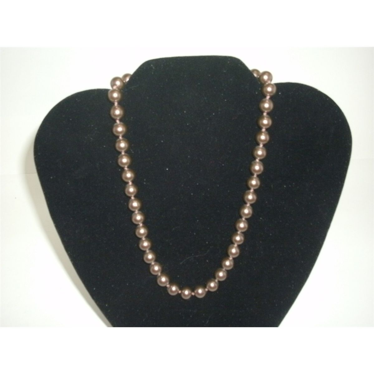 Vintage Richelieu Knotted Simulated Pearl Choker Necklace Very
