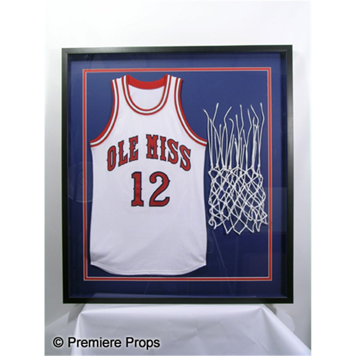 0867c6dad10 The Blind Side Sean's (Tim McGraw) 'Ole Miss' Framed Basketball ...
