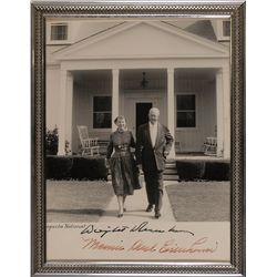 Dwight and Mamie Doud Eisenhower
