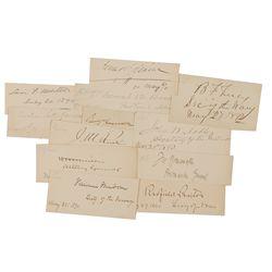 Benjamin Harrison and Cabinet