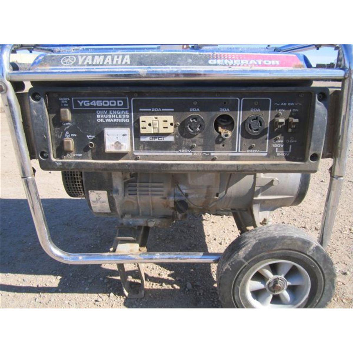 Yamaha 4,600w Portable Generator