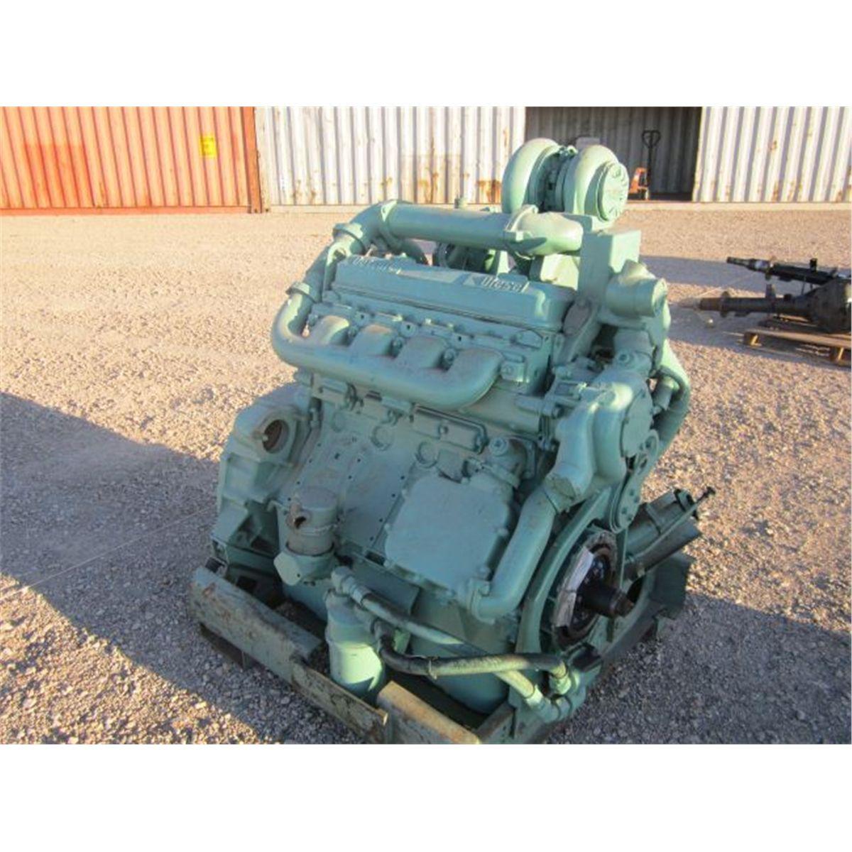 Detroit 2 Stroke Cycle V8 Engine
