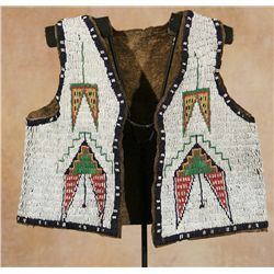Sioux Child's Vest, 19th century