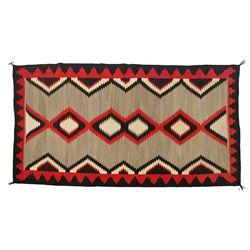 Navajo Ganado Weaving, 101 x 54, 1920s-1930s
