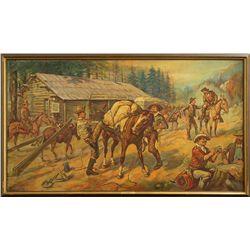 Jerome Howard Smith, oil on canvas