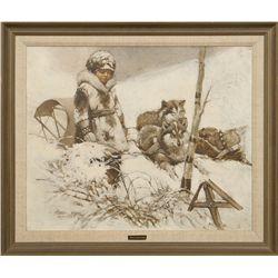 Frank Hoffman, oil on canvas