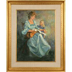 Harold Hopkinson, oil on canvas