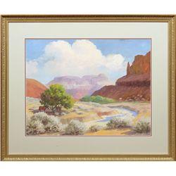 Edward Burns Quigley, oil