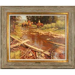Gary Kapp, oil on canvas