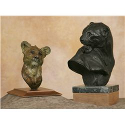 Dennis Anderson, two bronzes