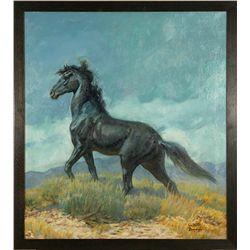 Walter Baumhofer, oil on canvas