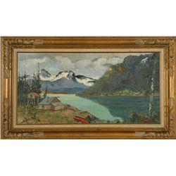 Harvey Goodale, oil on canvas