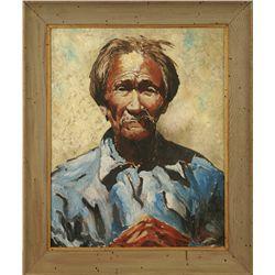 Eustace Ziegler, oil on canvas
