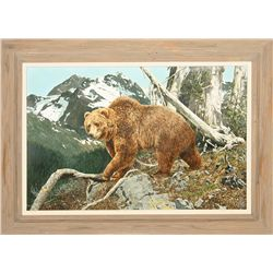 Norman Adams, oil on canvas