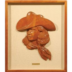 Edward Burns Quigley, woodcarving