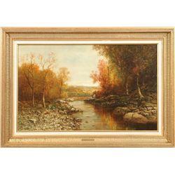 Wesley Webber, oil on canvas
