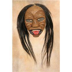 Seneca False Face Mask, 1930s