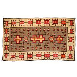 Navajo Weaving, 108 x 65, circa 1910
