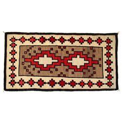 Navajo Klagetoh Weaving, 102 x 53, circa 1920