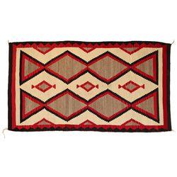 Navajo Weaving, 81 x 45, circa 1930