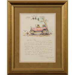 J. K. Ralston, Illustrated Letter