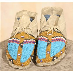 Osage Moccasins, 19th century