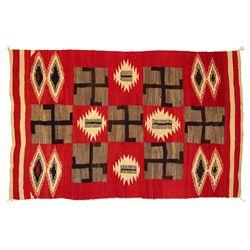 Navajo Transitional Weaving, 94 x 60, circa 1900