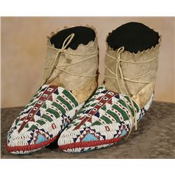 Sioux Ceremonial Moccasins, 19th century