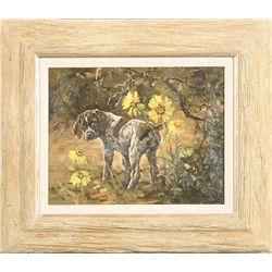Linda M. Budge, oil on canvas