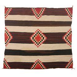 Navajo Weaving, 60 x 60, 1920s-1930s
