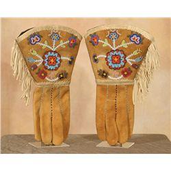 Canadian Blackfoot Gauntlets, circa 1920s