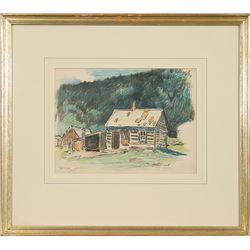 W. H. D. Koerner, crayon