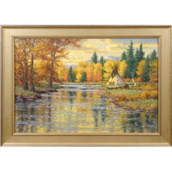 Randy Van Beek, oil on canvas