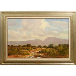 Bill Harrison, oil on canvas