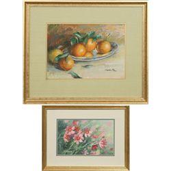 Arlene Hooker Fay, pastel and oil