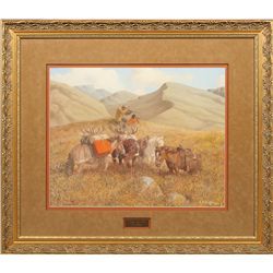 Edward Burns Quigley, oil on canvas