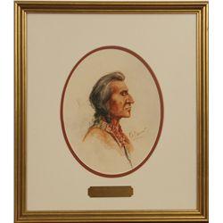 E. S. Paxson, watercolor