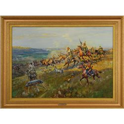 J. K. Ralston, oil on canvas