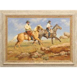 Krystii Melaine, oil on canvas panel