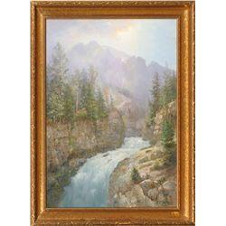 Ralph Earl DeCamp, oil on canvas