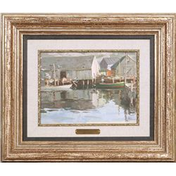 Tom Lovell, oil on canvas