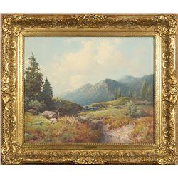 A.D. Greer, oil on canvas