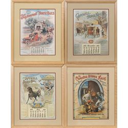 Four Capewell Horse Nails Advertising pieces